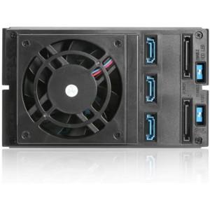 ISTAR HDD Trayless Hot-swap Rack - BPN-DE230HD-SILVER