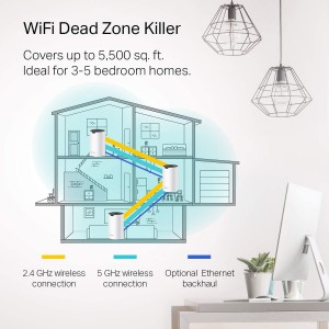 TP-Link TL-DECOS4 AC1200 Whole Home Mesh Wi-Fi System - 3 Pack
