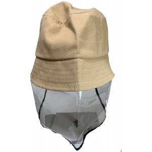 Tuff-Luv Kids Sunhat and Face Shield - Beige