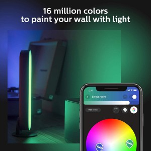Philips Hue Play White and Color Smart Light (Works with Amazon Alexa, Apple Homekit & Google Home) - Hub Required