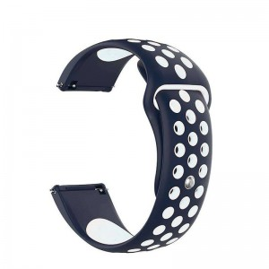 Fitbit Versa Silicone Watch Strap -Blue and White