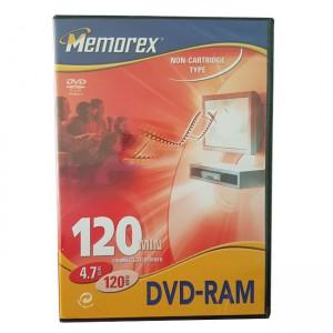 Memorex Non-cartridge Type 4.7GB DVD-RAM Disc