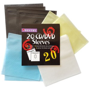 Sentry Double Sided CD/DVD Sleeves x20 Units