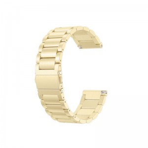 Fitbit Versa Stainless Steel Strap-Metallic Gold