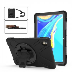 TUFF-LUV Armour Jack Case & Stand & Strap for Huawei Mediapad M6 10.8 2017