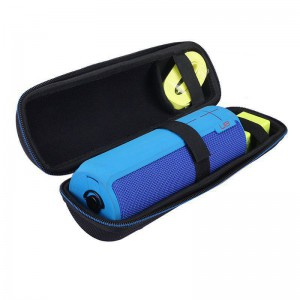 TUFF-LUV Travel Carry Protection Pouch Bag Cover Case For UE BOOM 2 / Ultimate Ears - Black