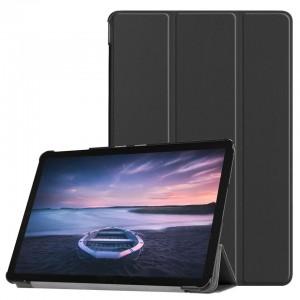 TUFF-LUV Flip Leather case For Samsung Galaxy Tab S4 - Black