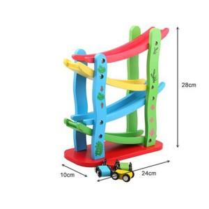 Toy - Wooden Minature Speeding Car