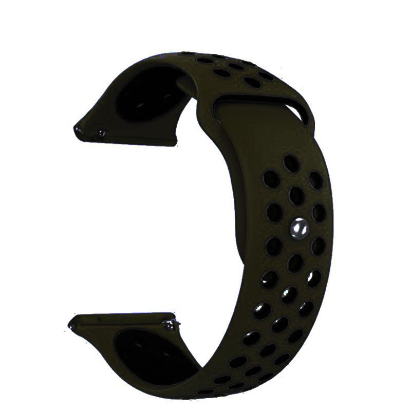 Fitbit Versa Silicone Watch Strap -Beige and Black