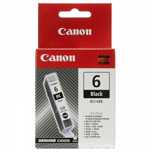 CANON BCI-6BK BLACK CARTRIDGE