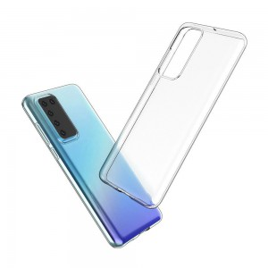 TUFF-LUV Protective Clear Gel Case for  Huawei P40 Lite - Clear