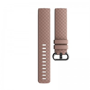 Fitbit Charge 3 Silicone Watch Strap (Large) -Beige