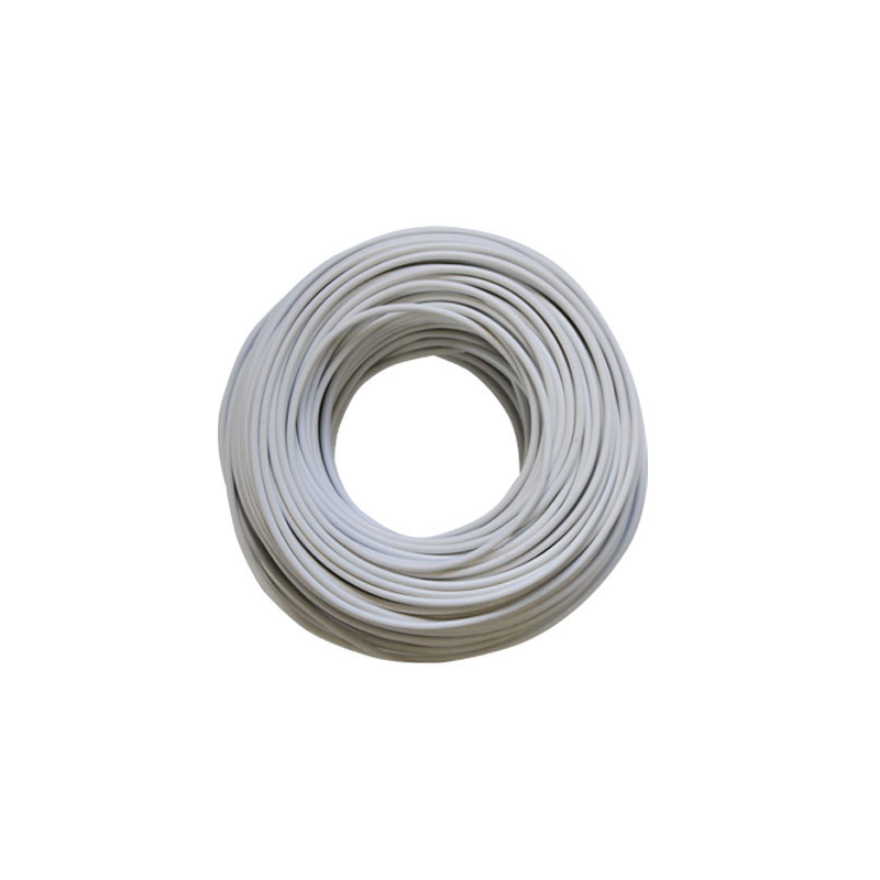HT Cable Slim-Line White / 100m