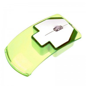 Wireless Transparent LED Mouse 2.4G