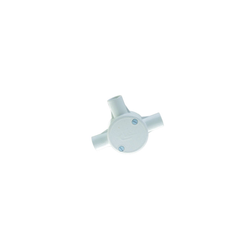Conduit PVC 25mm 3-Way Box