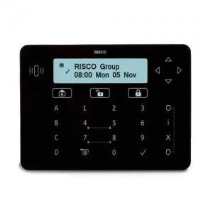Risco Elegant LCD Touch Sense Keypad (Black)