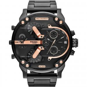 Diesel Men's Mr Daddy 2.0 Stainless Steel Chronograph Quartz Watch - Black