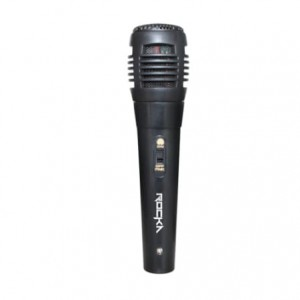 Rocka Voice Series ABS Wired Microphone - Black