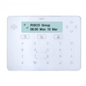 Risco Elegant LCD Touch Sense Keypad (White)
