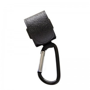 Multi Purpose Stroller Pram Hook - Black