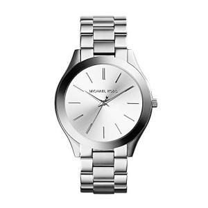 Michael Kors Slim Runway Three-Hand Analog Quartz Watch - Silver