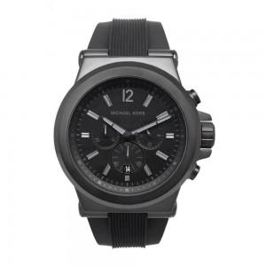 Michael Kors Men's Dylan Chronograph Analogue Quartz Watch - Black