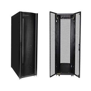 42U 1M Deep Cabinet Ventilated Doors