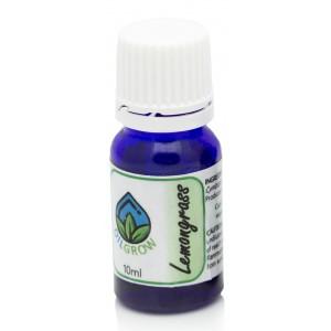 Oilgrow Lemongrass (Cymbopogon flexuosus) PURE ESSENTIAL OILS (Origin - South Africa) - 10ml