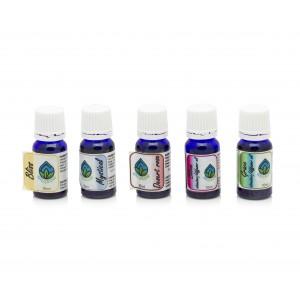 Oilgrow Best of Blends - Selection of Unique Essential Oil Blends 10ml x 5 BUNDLES