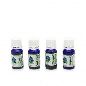 Oilgrow Citrus Sensation - Selection of Citrus Essential Oils 10 ml x 4 BUNDLES