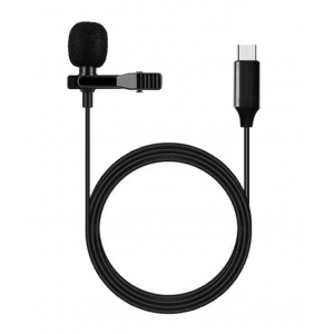 USB TYPE-C Microphone Easy Clip Mic