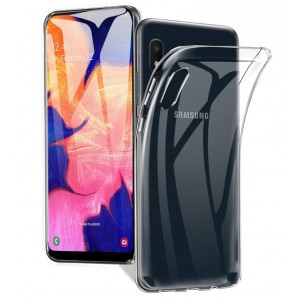 Tuff-Luv Protective Clear Gel case for Samsung Galaxy A10s -  Clear