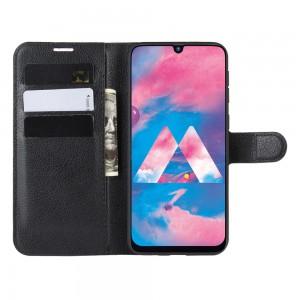 Tuff-Luv Essentials Book style Case Samsung Galaxy A10S -  Black