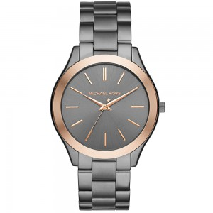 Michael Kors Slim Runway Three-Hand Watch - Gray