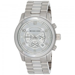 Michael Kors Slim Runway Three-Hand Watch - Silver