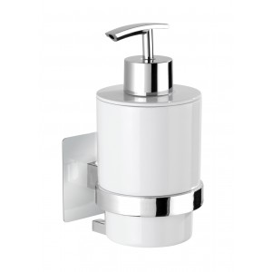 Wenko TURBO-LOC® SOAP DISPENSER QUADRO RANGE