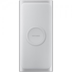 Samsung 10000mAh Wireless Charger Portable Battery  - Silver