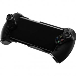 GLAP Play P/1 Dual Shock Wireless Game Controller Mobile Gamepad with 4 Paddles for Android and Windows - Black