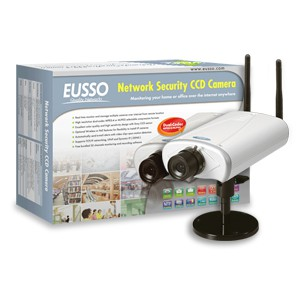 Eusso Dual-Codec Network Ccd Camera