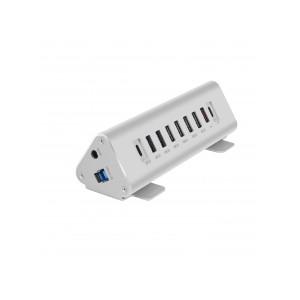 Macally USB-C to 9 port USB-A/USB-C hub/Charger