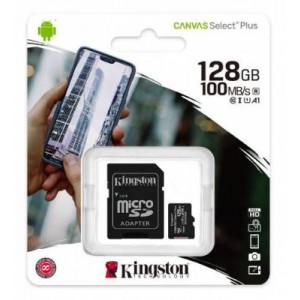 Kingston Canvas Select Plus 128GB miCroSDXC Memory Card