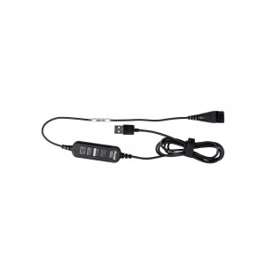 Axtel USB Cable with DSP and Multifunction Controller (Mute, Call Pick Up, Volume up & down)