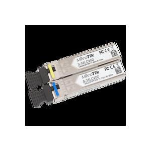 MikroTik SFP Module Pair, SM 20km T1550nm/R1310nm