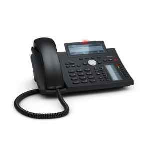 Snom D345 - 12 Line Business Phone, POE , Gigabit Port, USB, Second screen as graphical display, PSU not included