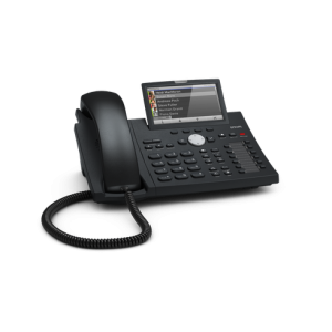 Snom D375 - 12 Line Business Phone, POE , Gigabit Port, USB, 3-way conferencing on the phone, PSU not included
