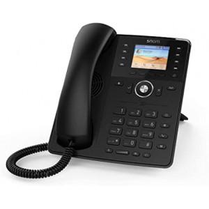 Snom D735 - 12 Line Business Phone, 32 self-labeling keys, POE, Gigabit Port, USB, PSU not included