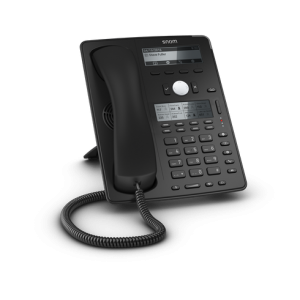 Snom D745 - 12 Line Business Phone, POE , Gigabit Port, USB, Second screen as graphical display, PSU not included