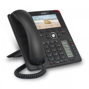 Snom D785 - 12 Line Business Phone, 2nd Screen, POE, Gigabit Port, USB, Bluetooth, PSU not included