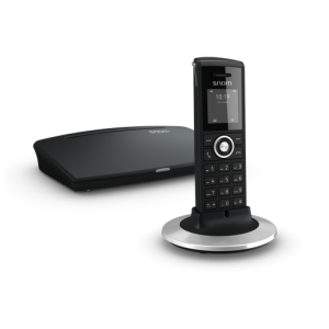 Snom M325 - Wireless (DECT) singlecell solution up to 5 sim. Calls, repeater support +includes 1 Handset