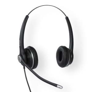 Snom Headset A100D - Wideband Monaural Duo Headset, noise cancelling, for D3xx, D7xx series phones